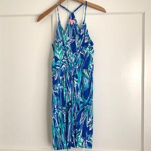 Lilly Pulitzer Rosa Dress Blue Crush Bamboom